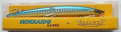 ARTIFICIALLE HOKKAIDO LURES ALLUX SUPER SHAD 180F 180mm 30gr F ANCHOVY -H03