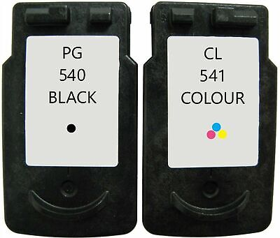 Canon PG 540 Black And CL 541 Colour Cartridges For Pixma MG3550