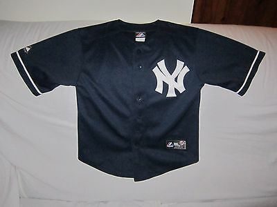 Mlb New York Yankees Majestic Jersey Kids Size 8