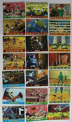 Complete Set Of 74 Disney Toy Story Collector Cards - Skybox Trading Cards