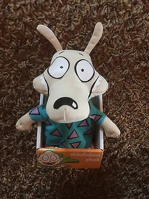 Rocko's Modern Life Plush Super Deformed Doll  Toy Stimpy  Nickelodeon Ren Hey !