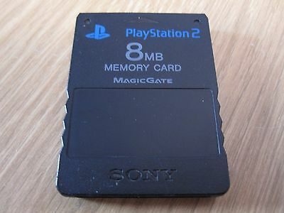 Ps2 Official Sony Playstation 2 Ps2 8Mb Memory Card
