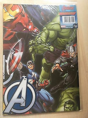 New Marvel Avengers Gift Wrap Set - 2 Sheets of Paper 50x69.5cm & 2 A Logo Tags
