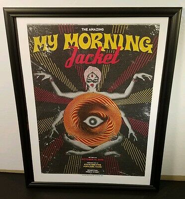 MY MORNING JACKET at State Theatre Portland, MA **2010** FRAMED Concert Poster