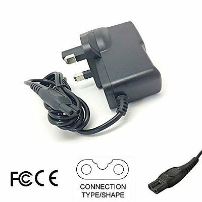 Shaver Power Lead Charger Cable Cord For Philips HQ7380 HQ7390 HQ7415 Shavers