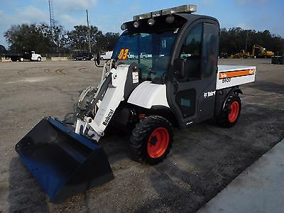 Bobcat Toolcat Enclosed Cabin Ac/stereo, Dump, Front Bucket