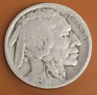 1919-D Buffalo Nickel : Nice Circulated Condition : Over 6000+ Items