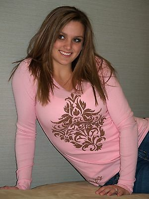 10pc Lot Women's Long Sleeve Graphic Tee, Sold in Boutiques, New, $3 per shirt