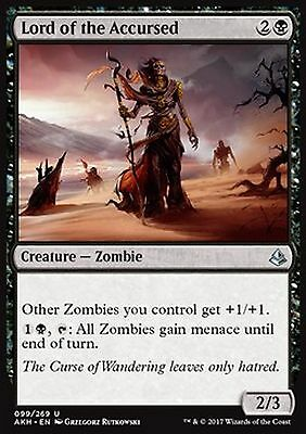 *MRM* ENG 4x Lord of the Accursed - Seigneuresse des maudits MTG Amonkhet