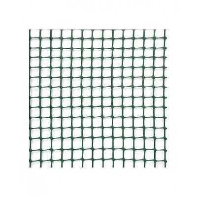 Rete Quadra 10 mm - h1x5 mt - verde