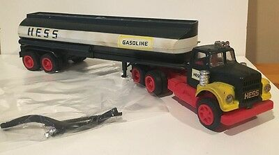 Vintage 1968 Hess Tanker Truck Compete With Hoses