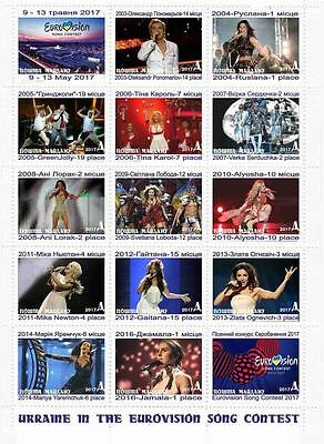 post of Maidan Ukraine all participants of the Eurovision song contest 2003 2017