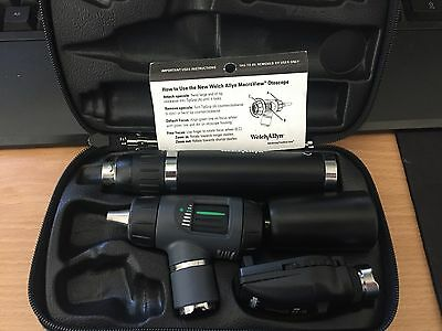 Welch Allyn Macroview Otoscope and Opthalmoscope Rechargeable Diagnostic Set