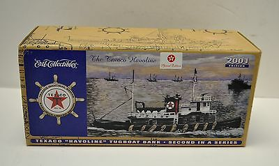 2001 Texaco Havoline Millennium Tugboat Bank-2nd In Series Special Edition