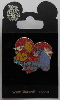 Disney Pin DS Valentine's 2003 Pooh & Eeyore Pin