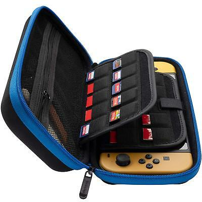 Nintendo Switch Hard Carrying Case/Bag/Organizer with 19 Game Cartridge Holders
