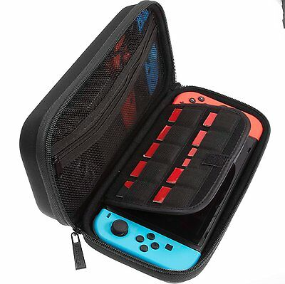 Nintendo Switch Travel Carry Case for Console/AC Adapter/Game Cards/Accesorries