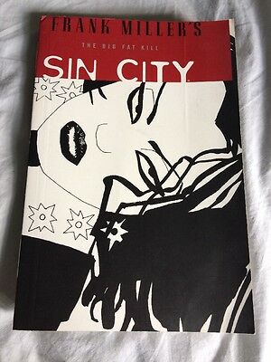 Sin City The Big Fat Kill Book 3 Graphic Novel