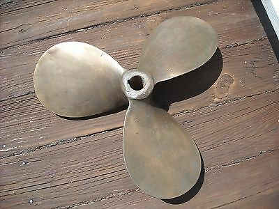 propeller bronze 18 inch vintage left hand marine boat nautical decor