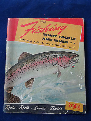 A Vintage South Bend Advertising Fishing Catalogue For 1950