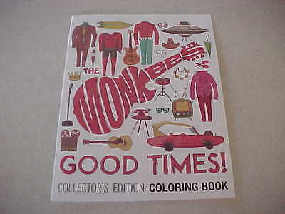 The Monkees - Good Times * Coloring Book * Collector's Edition * Limited * Rare