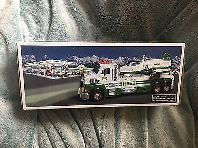 HESS 2014 50th Anniversary Toy Truck And Space Cruiser With Scout Damage Box