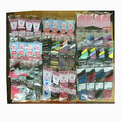 Massive Job Lot Of Quality Ladies Socks Clearance Pallet 120 Pairs