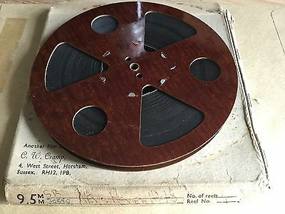 "9.5mm PATHESCOPE FILM REEL 1948 ""REVIEW OF THE YEAR 1948"""