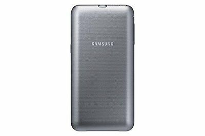 """Samsung """"Power Cover"""" Wireless Battery Pack for Galaxy S6 Edge Plus - Silver"""