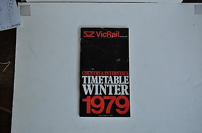 V.R. 1979  Country and Interstate timetable