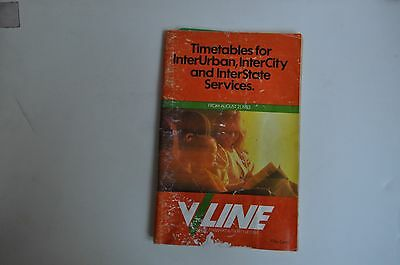 V/Line Country City and Interstate  timetable 1983