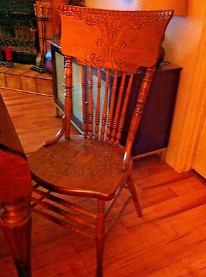 Antique  Beautiful Carved Chair (Reduced Price)