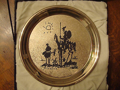 3 Sterling Silver collectors plates