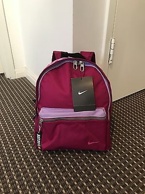 Nike Small Purple Sport Backpack For Kids RRP$70
