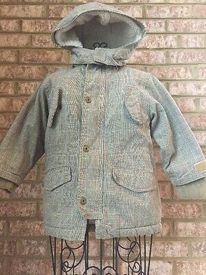 Boy's BABYGAP Warm Winter Coat Jacket Hood 4T