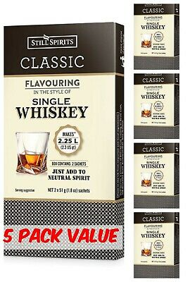 Still Spirits Classic SINGLE MALT WHISKY Essence- 5 Pack - Homebrew