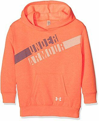Under Armour, Favorite Fleece Hoody, Felpa Con Cappuccio, Bambina, Blu (K3d)