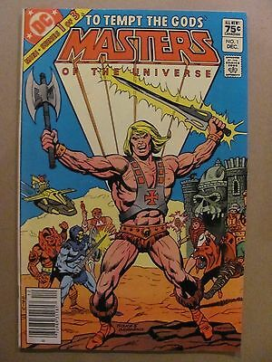 Masters of the Universe #1 DC Comics 1982 Series Canadian Newsstand Edition
