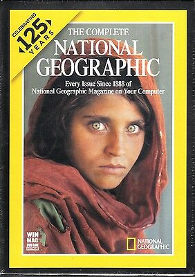 S1 The Complete National Geographic Celebrating 125 Years DVD ROM SOFTWARE