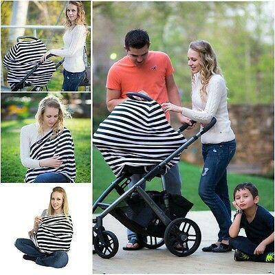 Baby Car Seat Stroller Canopy Sunshade Nursing Breastfeeding Maternity Cover