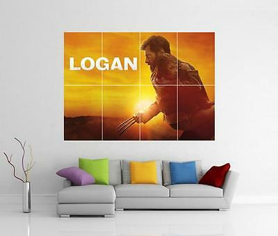 Logan Movie Wolverine Marvel X - Men Giant Xl Wall Art Pic Photo Print Poster