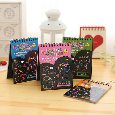 Portable Cute Cartoon DIY Notepad Memo Diary mini Notebook Exercise Book