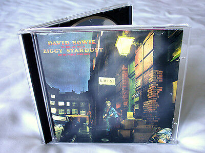 David Bowie Ziggy Stardust CD 1990 5 Bonus + Fold-out Lyric Sheet + Photos WORLD