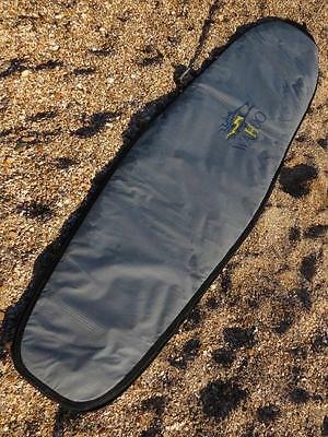 9ft Wahoo padded surf board bag with unique bike saddle strap for easy carrying