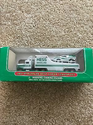 2001 Miniature Hess Racer Transport - NIB