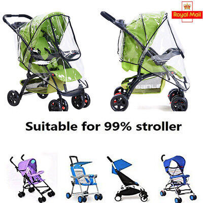 Rain Cover Size Fit Universal Hauck Shopper Sport Buggy Pushchair New Years Eve