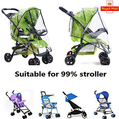Rain Cover Size Raincover Fit Universal Hauck Shopper Sport Buggy Pushchair Xmas
