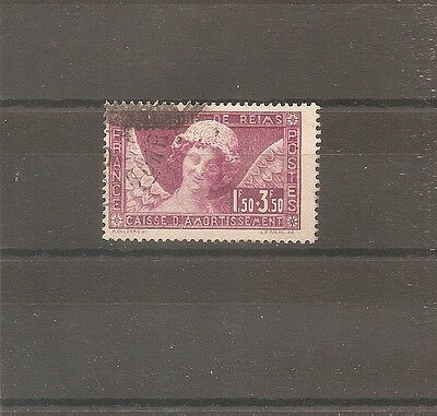 Timbre France Frankreich Sourire Reims 1930 N°256 Oblitere Used Cote 100 Euros