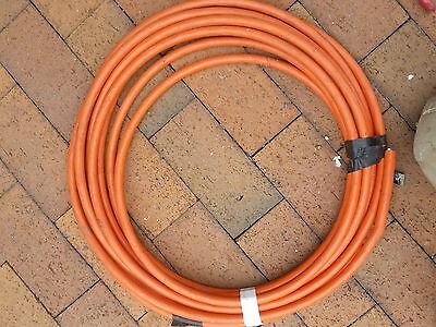 6mm 4 Core and Earth Orange Circular  Cable