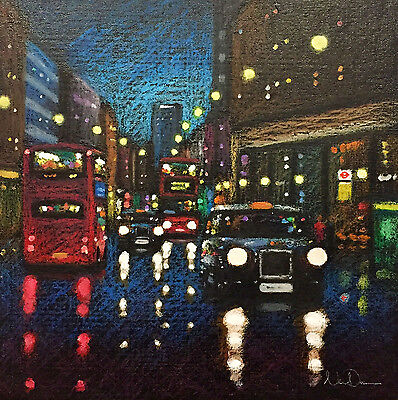 Neil Dawson - 'Out and About' - Framed Original (London)